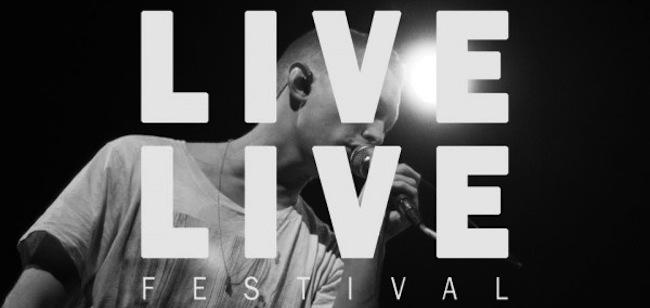 Vind billetter til Live Live Festival 2012
