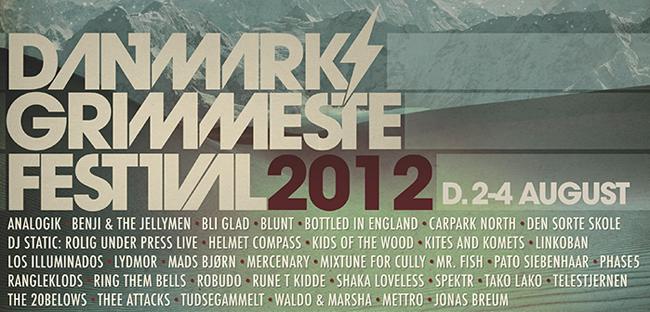 Vind billet til Danmarks Grimmeste Festival 2012